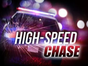 90 MPH Pursuit North of Bluffs Ends at RWMC