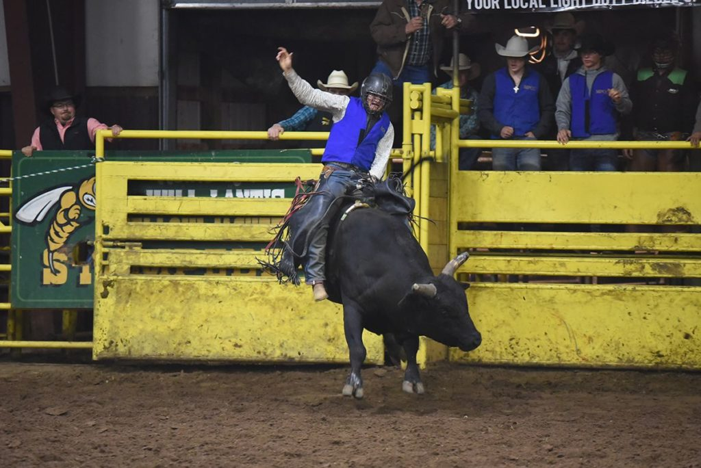 Engel Wins Bull Riding At Yellow Jacket Stampede York S