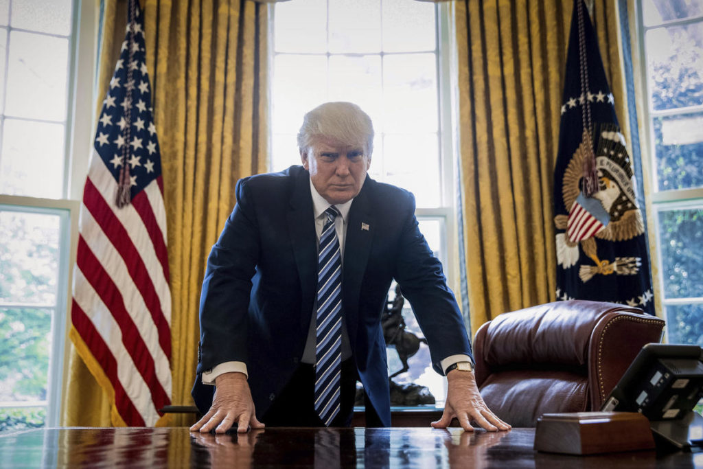 """Beijing """"Not Aware"""" of Weekend Calls with Trump"""