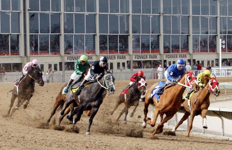 Fonner Park live horse racing canceled