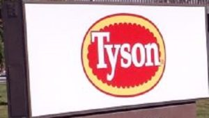 China Suspends Exports from Tyson Foods Plant