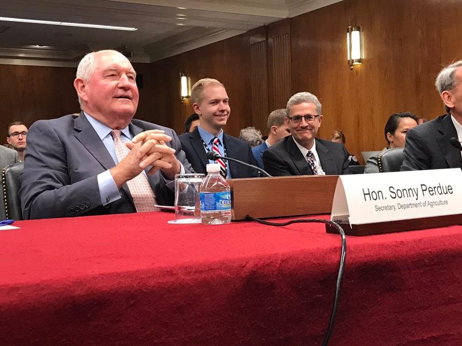 Secretary Perdue applauds USDA's 2020 accomplishments