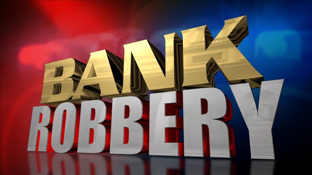 Suspect sought in Kansas bank robbery