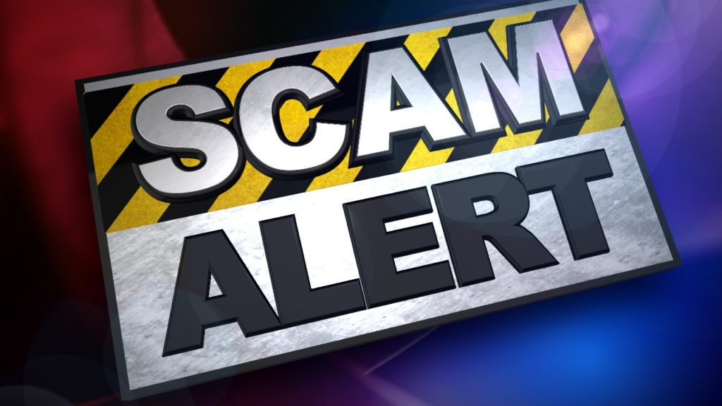 (AUDIO) CCPPD reports Impostor Scam