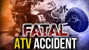 One killed in Sunday night ATV rollover