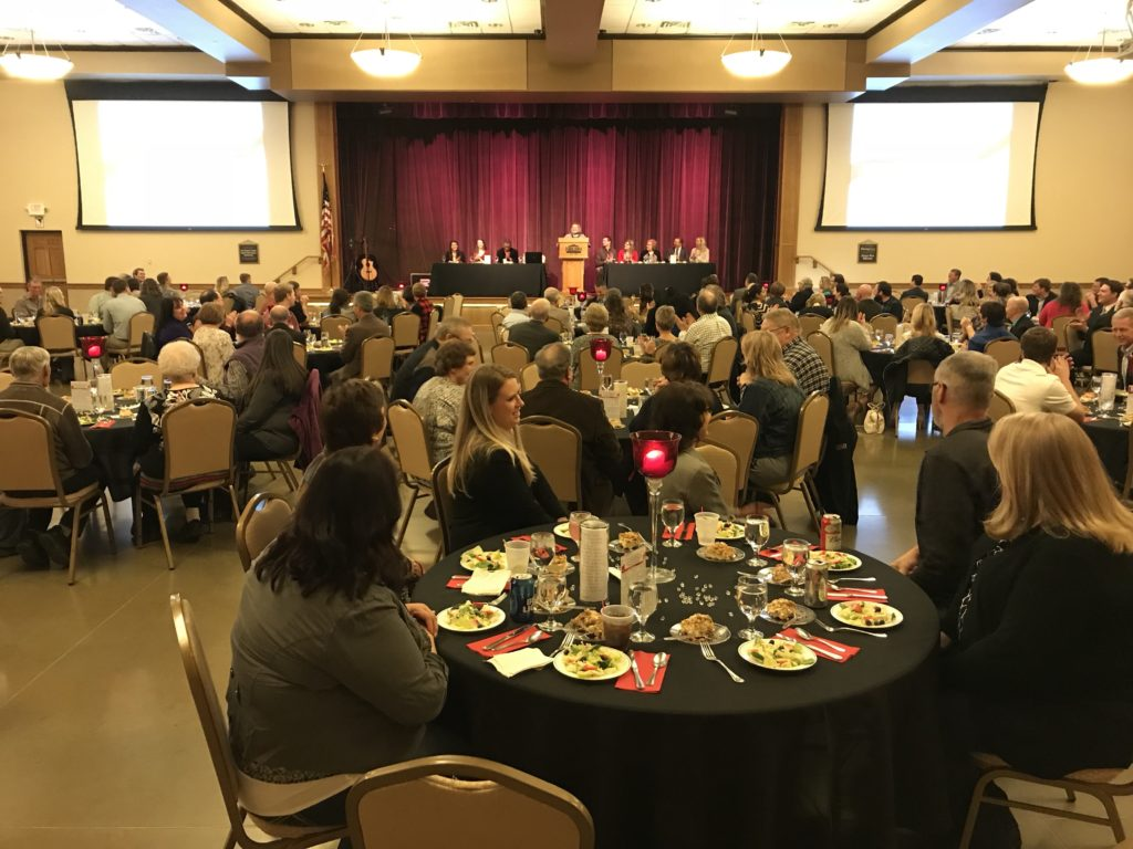 Awards Handed Out At Partners In  Progress Banquet