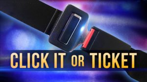 Holdrege PD summarizes recent Click it or Ticket Campaign
