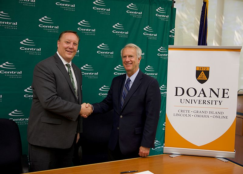 CCC and Doane Sign Articulation Agreements