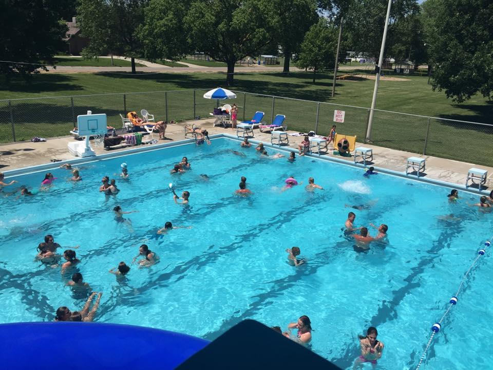 (AUDIO) Lots happening at Tekamah Swimming Pool this summer