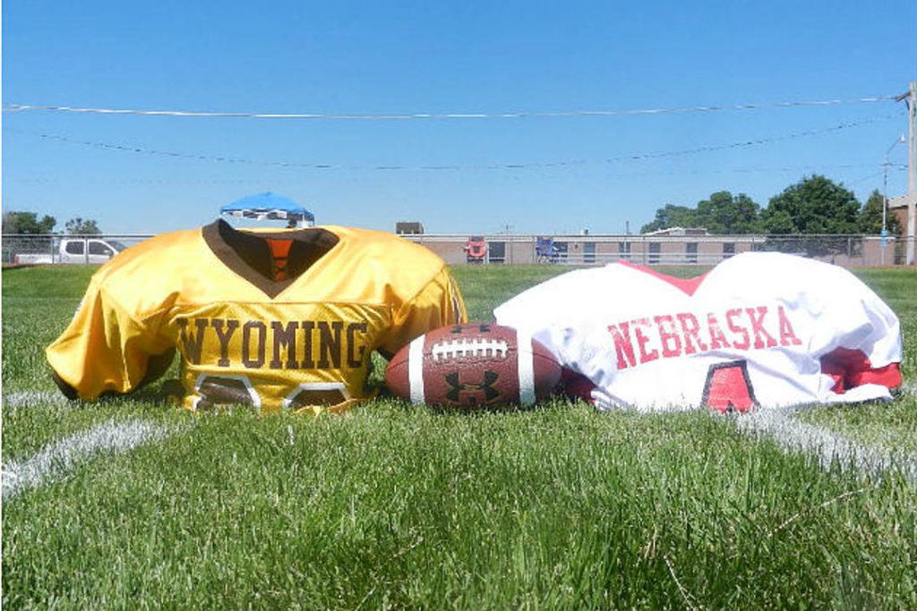 Nebraska vs Wyoming Six Man All Star Game