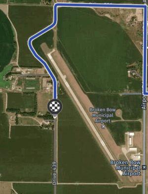 $2.5 Million Will Go toBrokenBowAirport for Runway