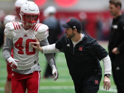 (Video) Nebraska football players at weekly press conference (Oct 15, 2018)