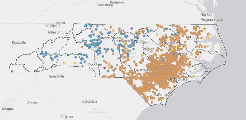 North Carolina farmers bracing for Florence