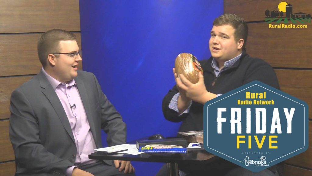 (Video) Friday Five – Pork Month Edition – – – October 26, 2018