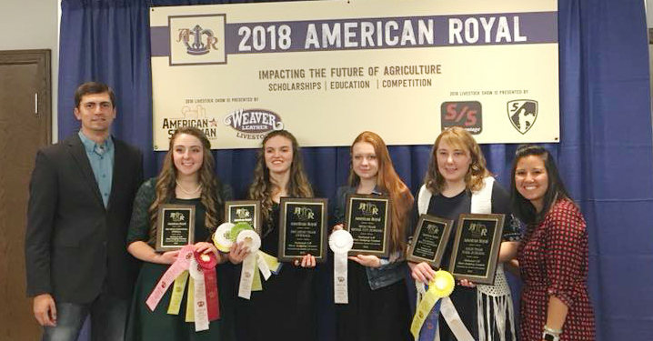 Goshen County 4-H meat judges bring home win at Nationals
