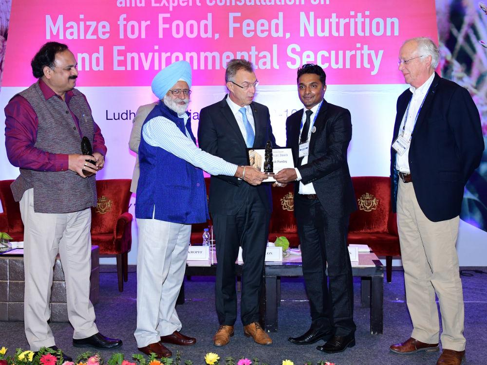 UNL graduate student wins Maize-Asia Youth Innovator Award