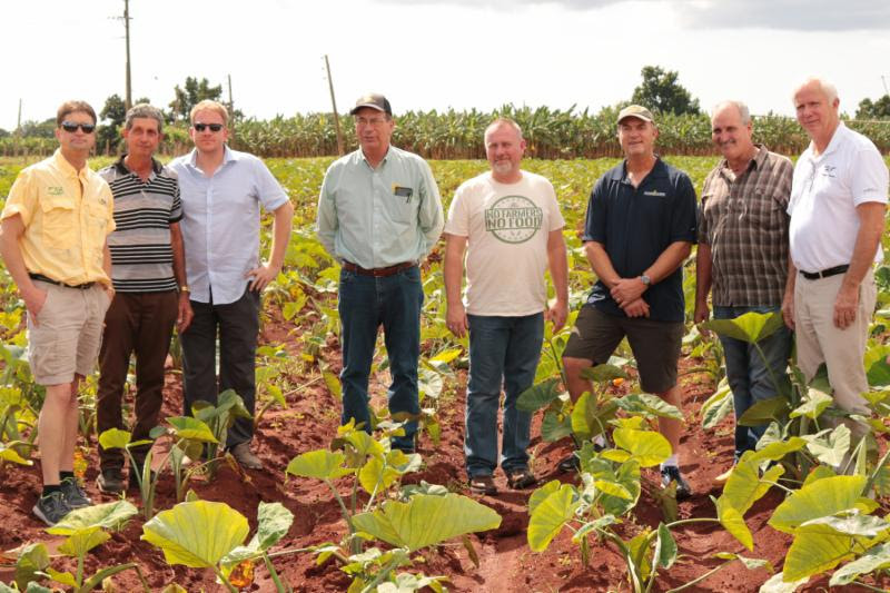 U.S. Farmers Visit Cuban Farms, Discuss Future Relationships