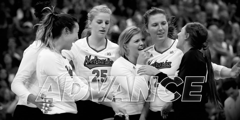 Huskers Advance to Seventh Straight Regional Final