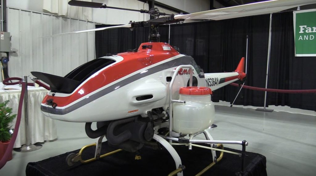 Huge Tires, An Unmanned Helicopter and more! Nebraska Power Farming Show Video Spotlight Reports – Day 2