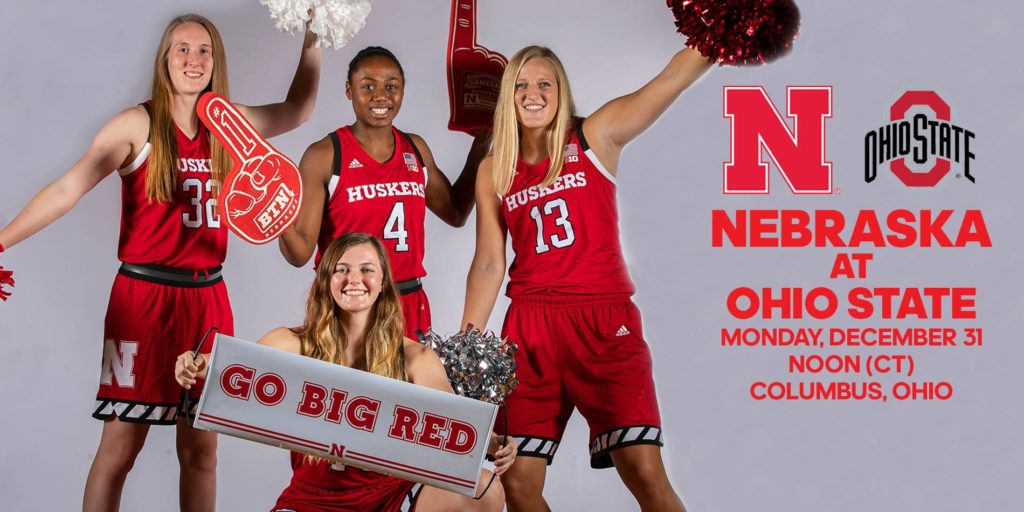 Huskers Hunt for Road Win at Ohio State