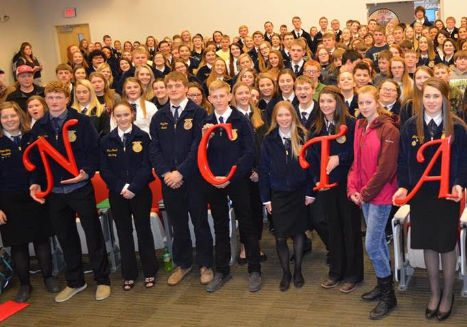 District 11 FFA contest results from NCTA