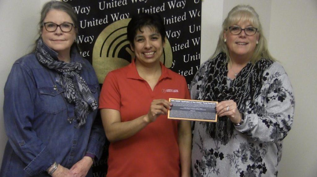 Becky Corona of Scottsbluff wins United Way trip