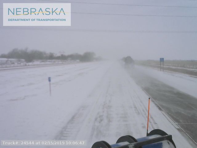 Treacherous driving conditions on Interstate 80…state highways and local streets