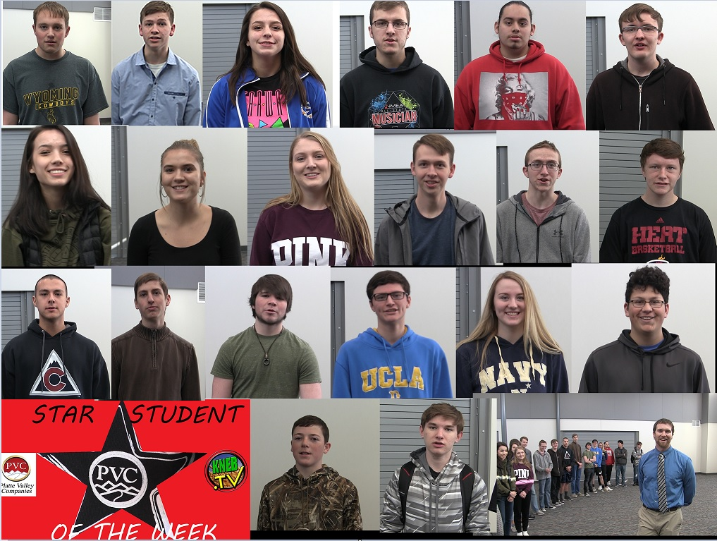 GHS Robotics and Physics Class named PVC Star Student of the Week