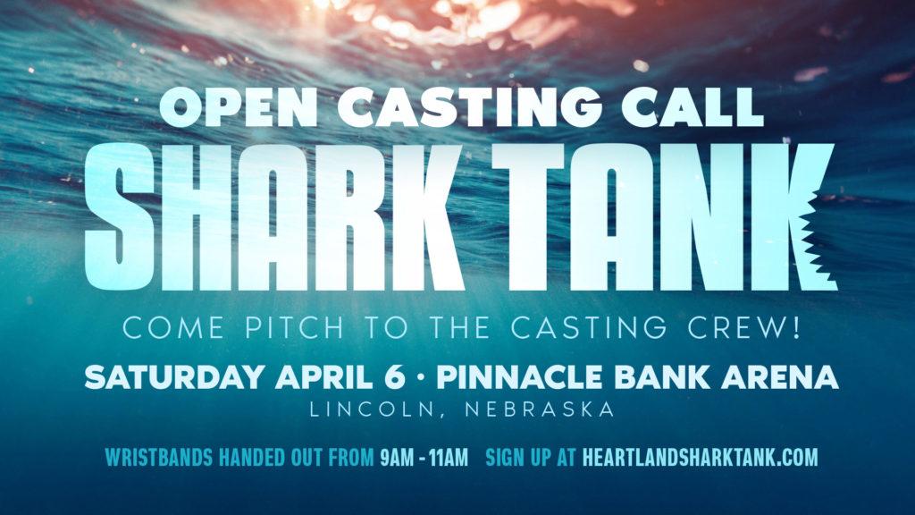 *Audio* Calling all Entrepreneurs! Shark Tank is coming to Nebraska