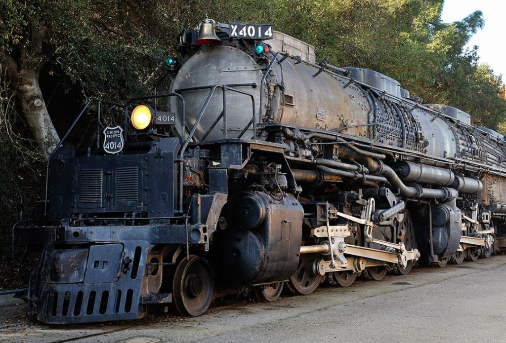 World's Largest Steam Locomotive Returns to the Rails as U.P. Commemorates Transcontinental Railroad's 150th Anniversary