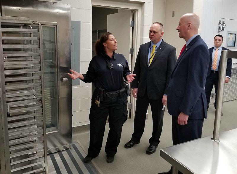 Nebraska leaders announce opening of community corrections 160-bed female unit