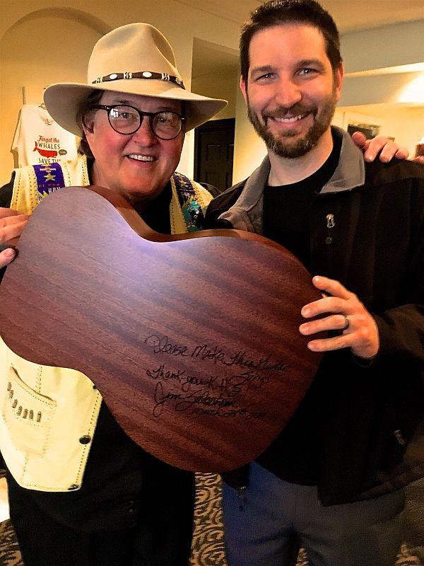 Salestrom donates Martin Guitar to KHS