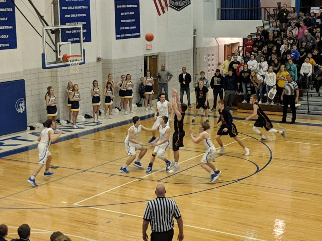 (Audio) Elm Creek Beats Lourdes Central Catholic In First Round Of The Class D1 State Tournament