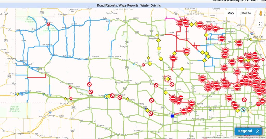 Nearly all highways in the Panhandle reopened