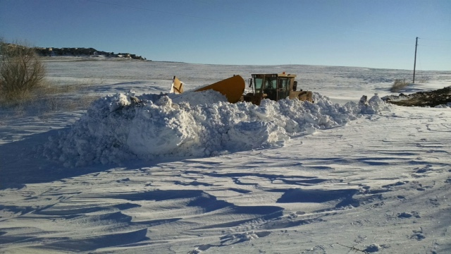 County crews make progress clearing roads but face many rough spots