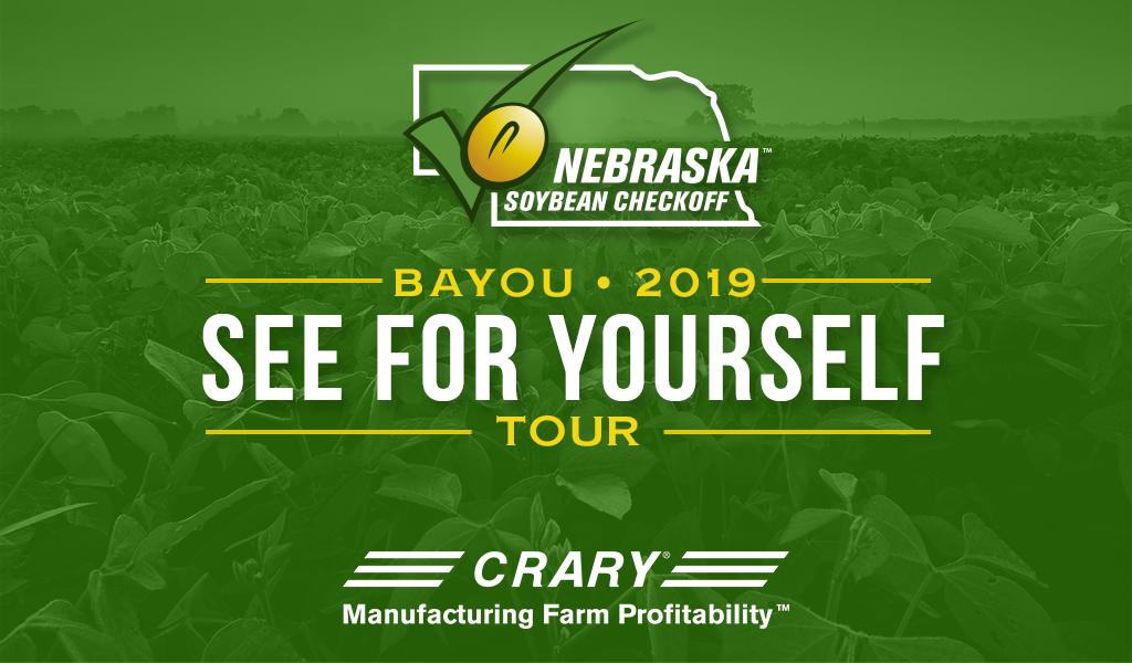"Nebraska Soybean Board ""See For Yourself"" Bayou Tour – Day 1"
