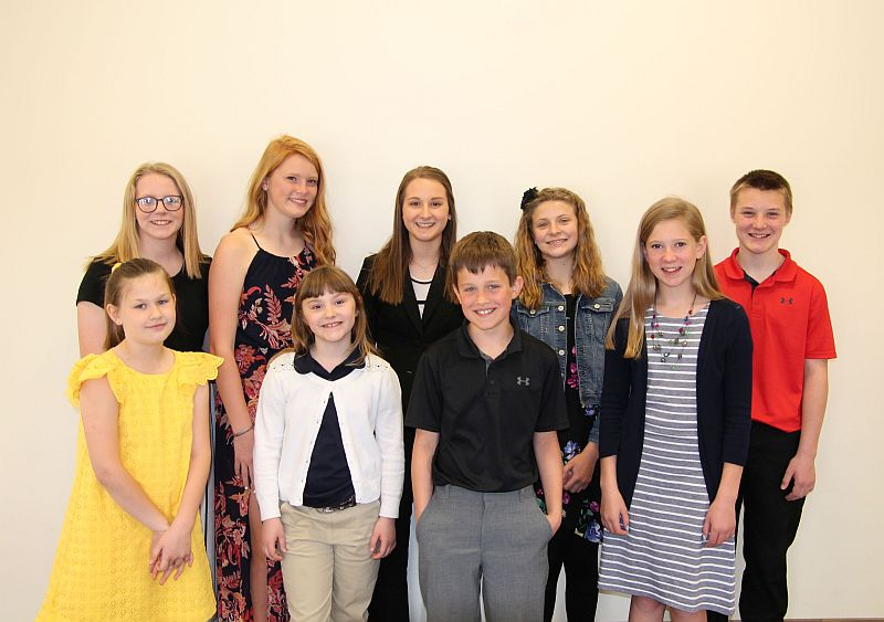 Dawson Co 4-H'ers compete in District 4-H Speech Contest