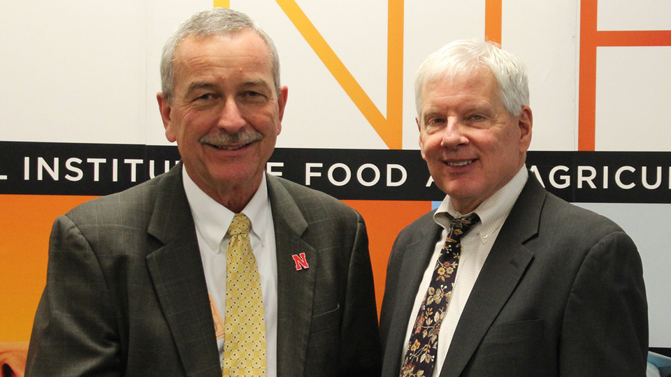 Nebraska Extension's Chuck Hibberd Inducted into NIFA Hall of Fame