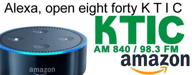 Alexa 840 KTIC Skill