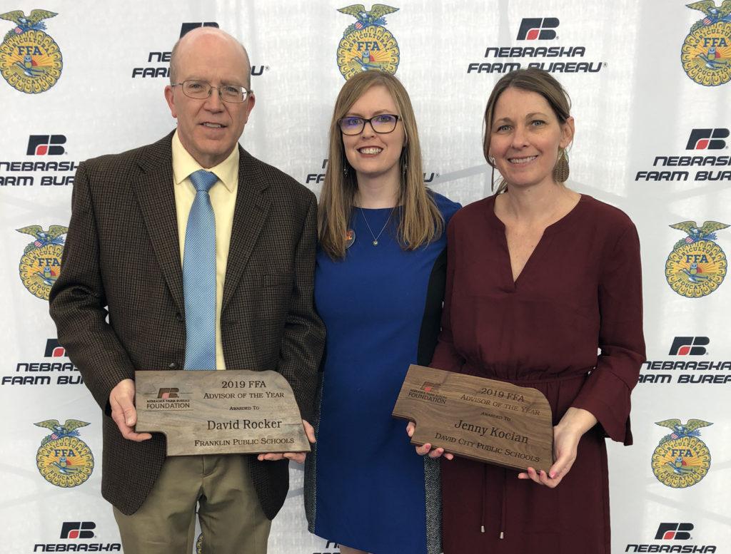 Nebraska Farm Bureau Foundation Announces 2019 FFA Advisors of the Year