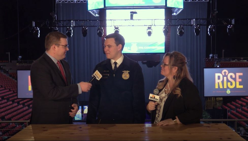 (Video) Nebraska FFA Secretary Discusses Year as State Officer