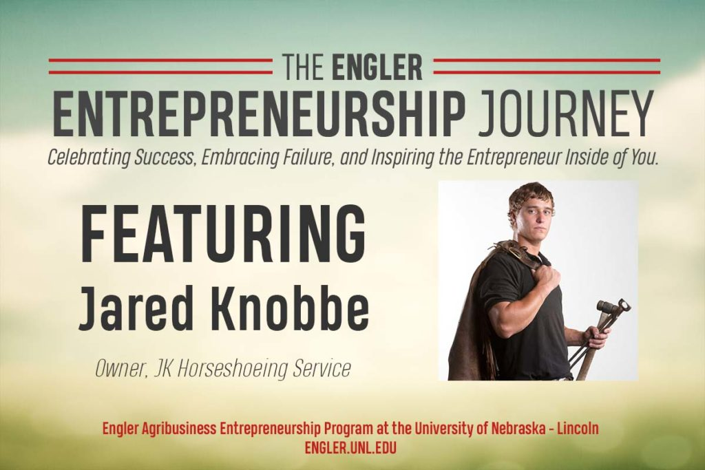 Engler Entrepreneurship Journey: Jared Knobbe