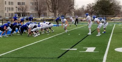 (Video)Lopers Hold Spring Scrimmage