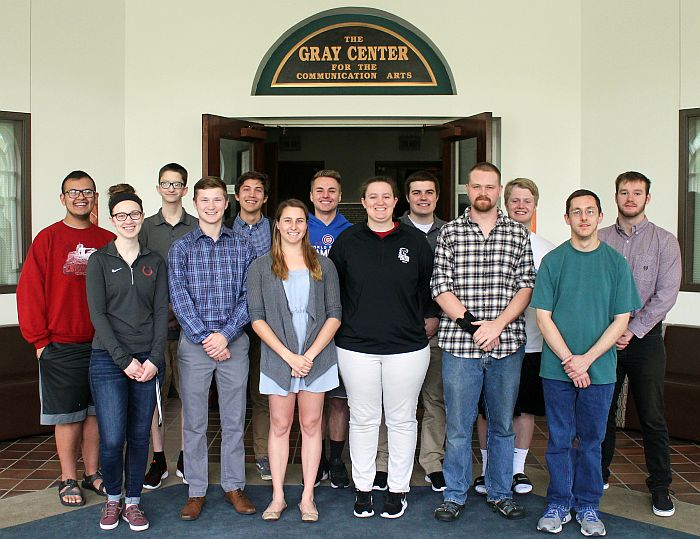 Society for Collegiate Journalists inducts 13 new members