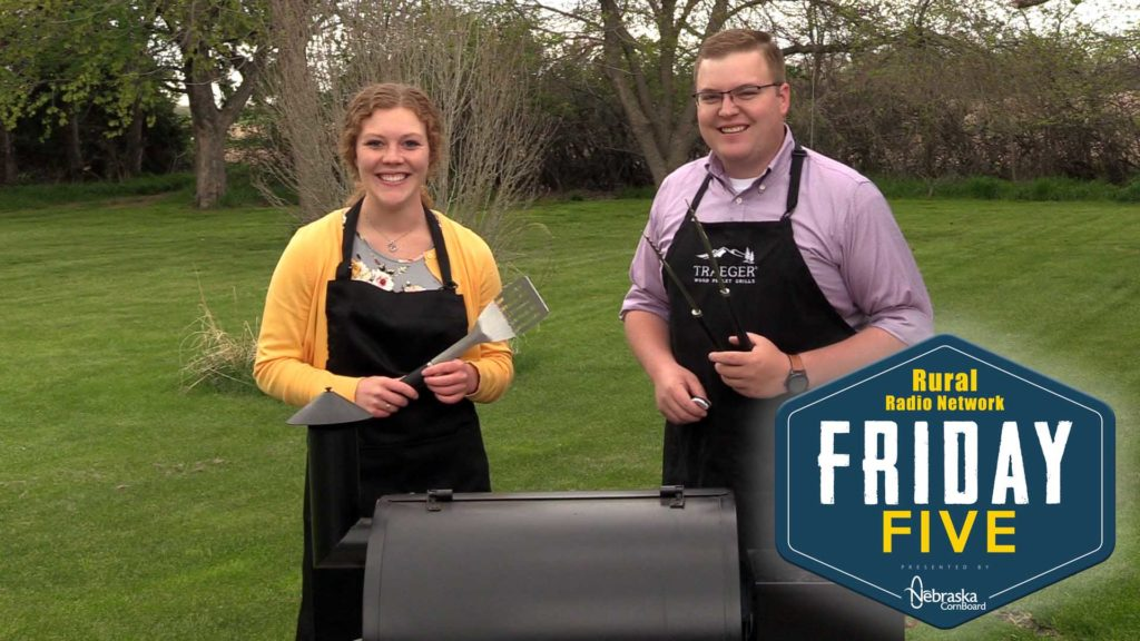 Tis' the Season to be Grillin' – Friday Five (May 10, 2019)