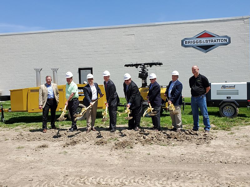 (AUDIO) Allmand breaks ground on Holdrege facility expansion