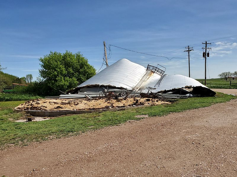 Preliminary Report: Three tornadoes impacted Dawson County