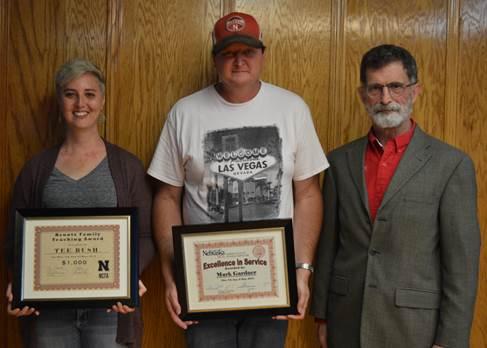 Tee Bush, Mark Gardner earn NCTA awards