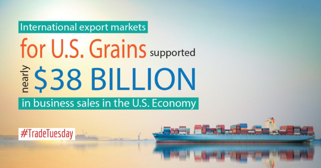 Economic Analysis: Grain Exports Offer Billions in Benefits Beyond the Farm