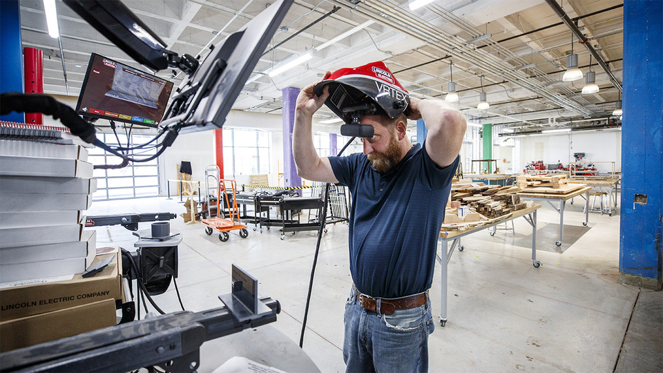 Nebraska Innovation Studio Readying Metal Shop, Complete Redesign
